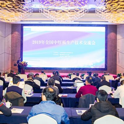 亚博电竞下载股份成功承办2019年全国中厚板生产技术交流会