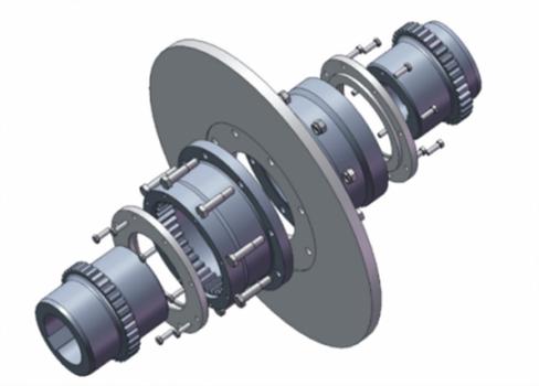 常规鼓形齿式联轴器