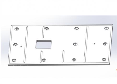 机架(牌坊)复合滑板