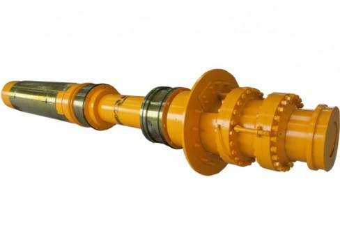连杆—柱塞斜楔式卷筒